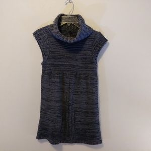 Dex Short Sleeve Cowl Sweater Tunic Petite